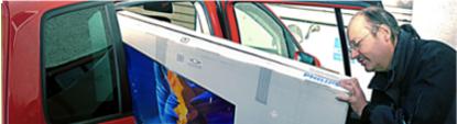 Bild Fernsehreparatur Startseite - Wie liefere ich meinen TV zu der Regiofixx GmbH?